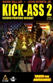 Kick-Ass 2 #1 Second Print Mark Millar (2010) Marvel comic book